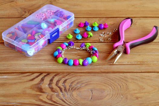 Knapper og perler til smykker